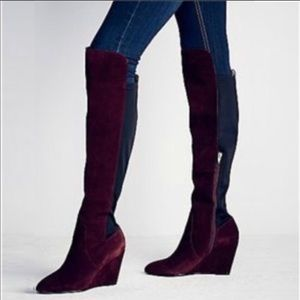 NEW Charles by Charles David suede boots